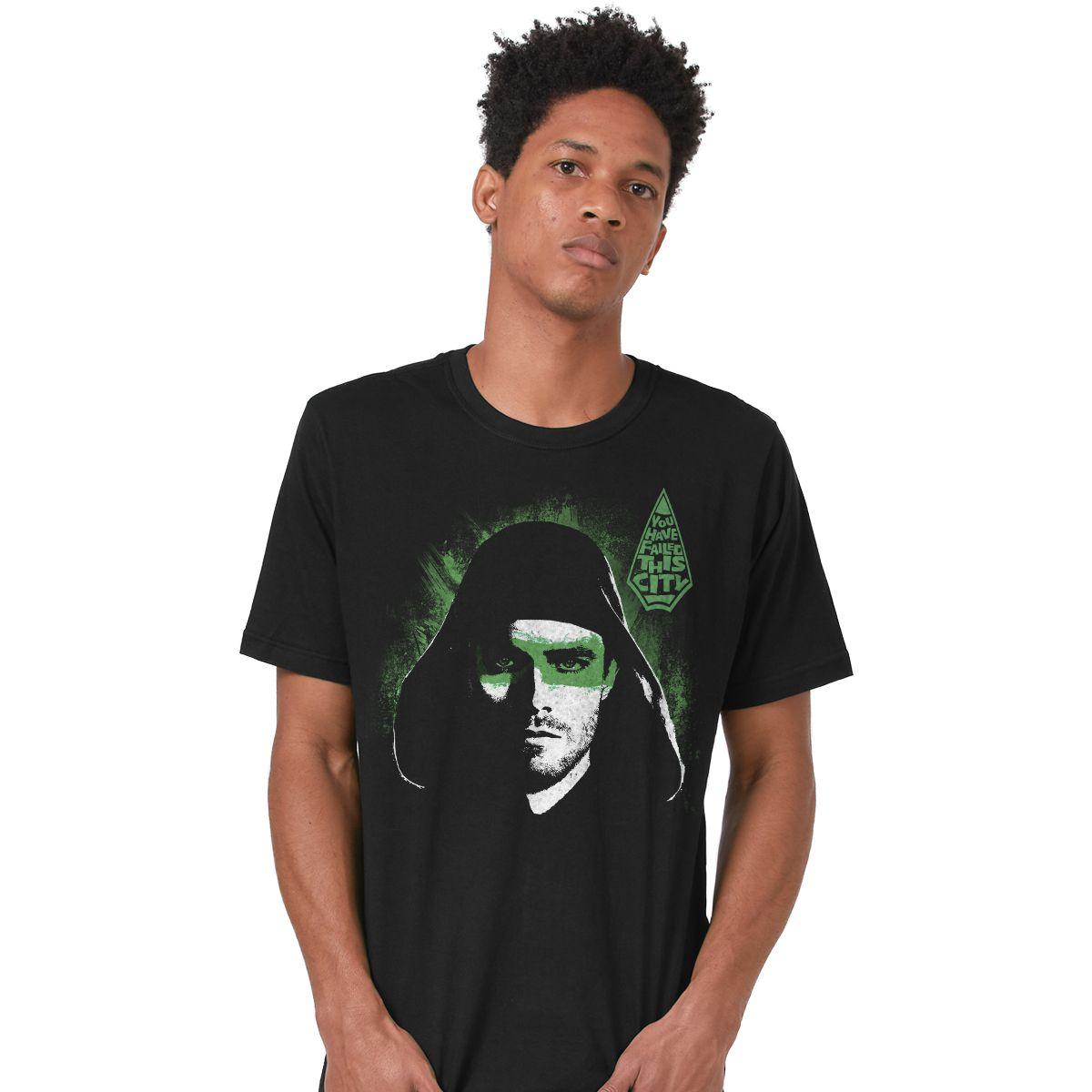 Camiseta Masculina Arrow You Have Failed This City  - bandUP Store Marketplace