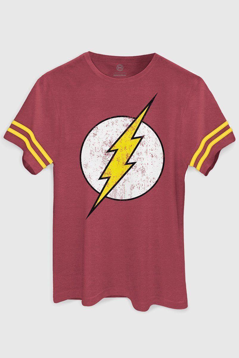 Camiseta Masculina Athletic The Flash Logo  - bandUP Store Marketplace