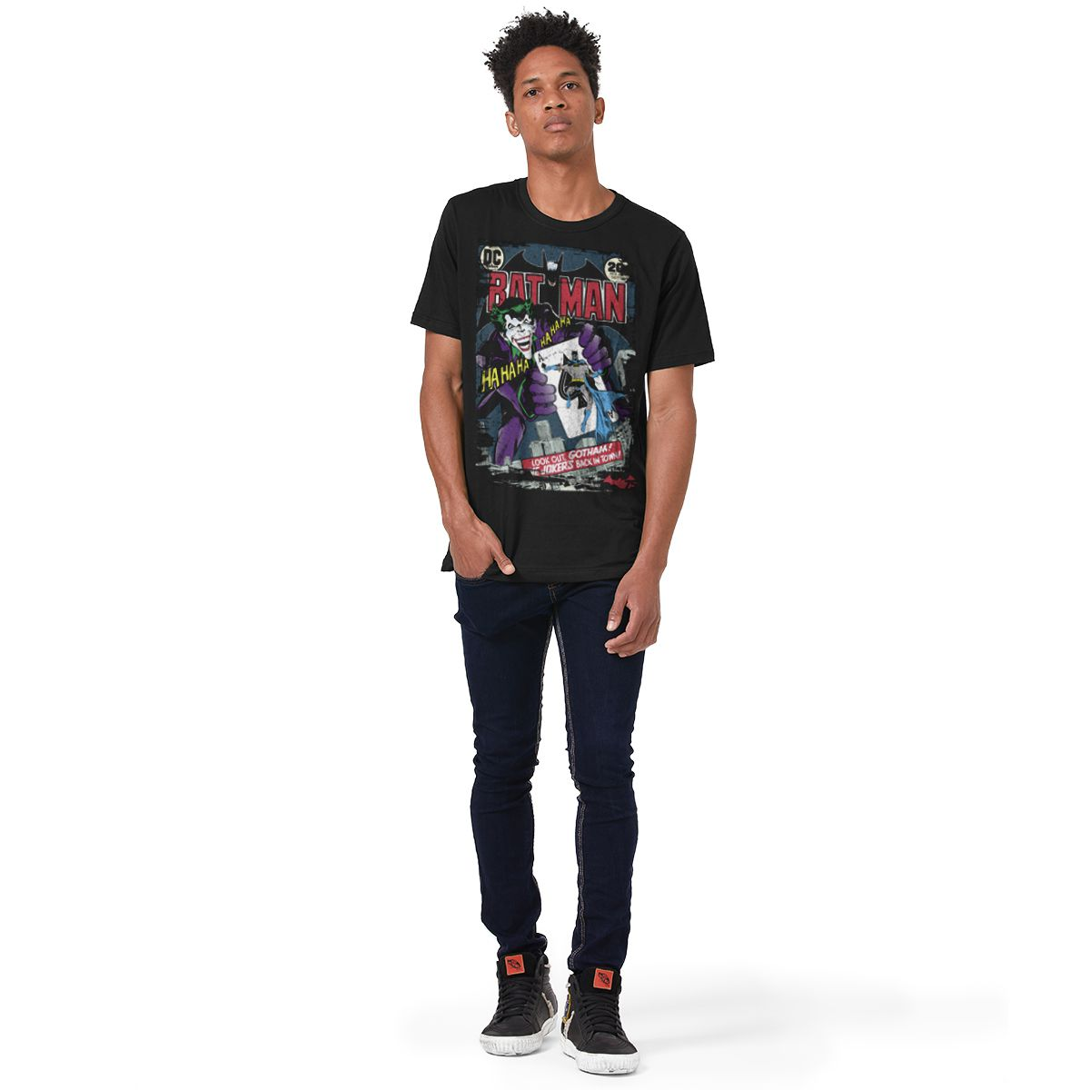 Camiseta Masculina Batman 75 Anos HQ Nº 251  - bandUP Store Marketplace