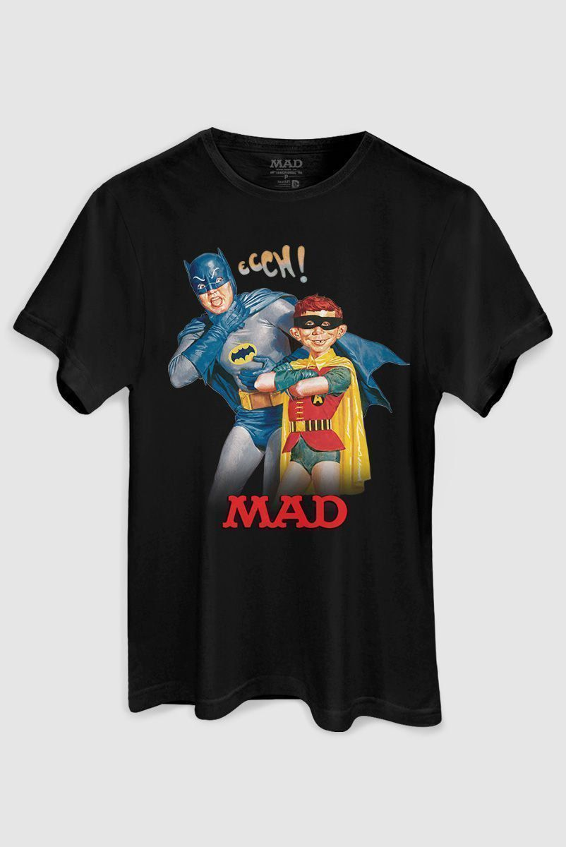 Camiseta Masculina Batman e MAD  - bandUP Store Marketplace