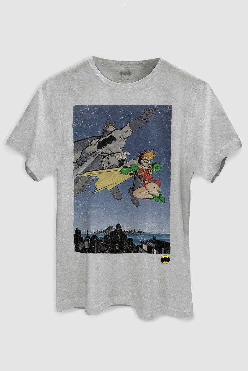 Camiseta Masculina Batman e Robin  - bandUP Store Marketplace