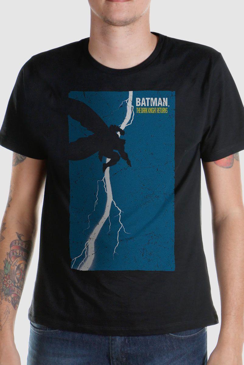 Camiseta Masculina Batman Frank Miller  - bandUP Store Marketplace