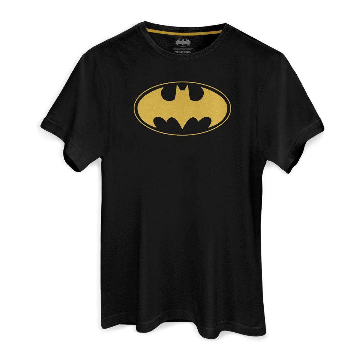 Camiseta Masculina Batman Logo Contour  - bandUP Store Marketplace