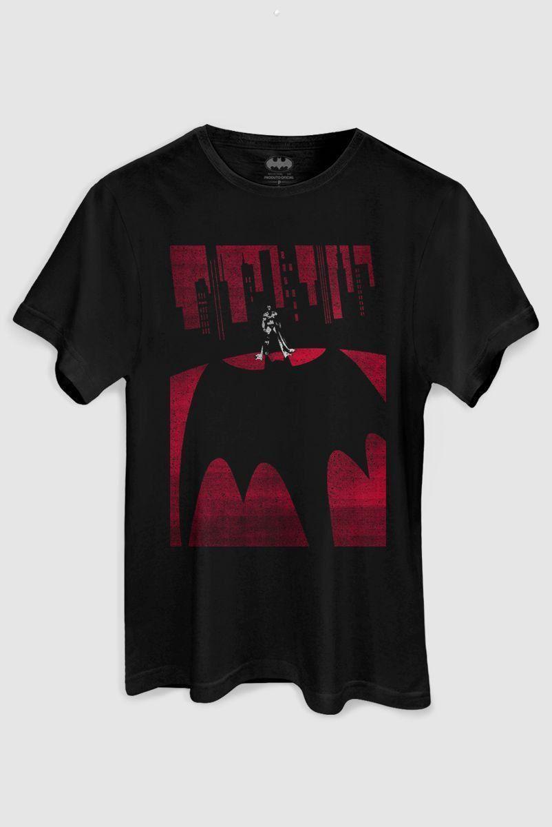 Camiseta Masculina Batman Reel Time  - bandUP Store Marketplace