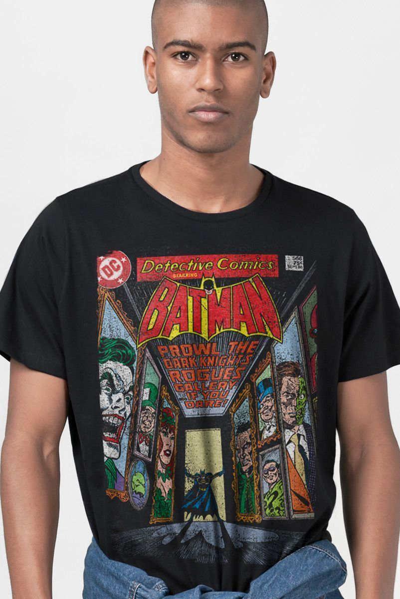 Camiseta Masculina Batman Rogues Gallery  - bandUP Store Marketplace