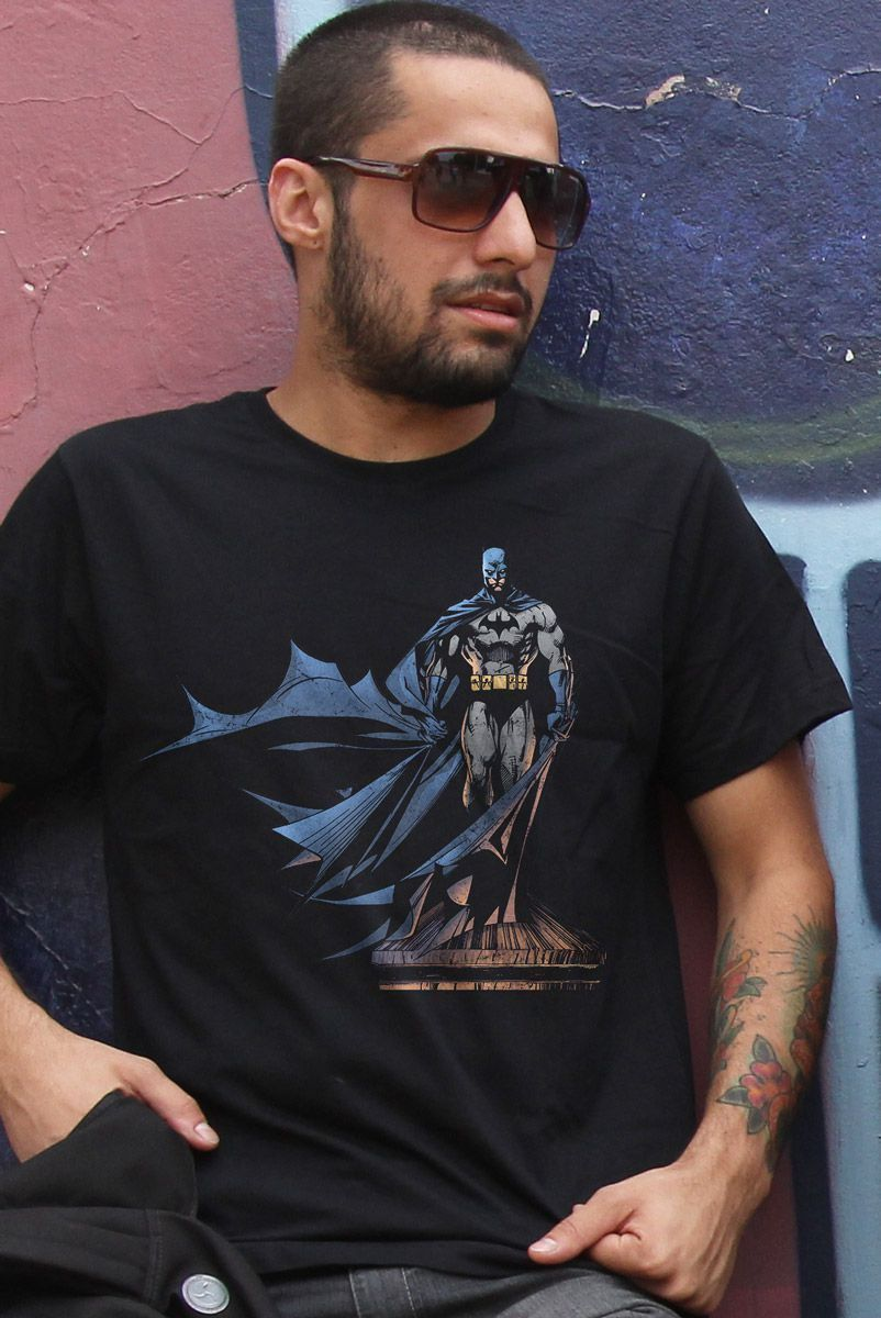 Camiseta Masculina Batman The Dark Knight 2  - bandUP Store Marketplace