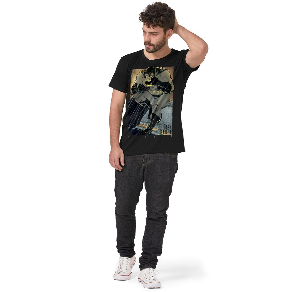 Camiseta Masculina Batman The Dark Knight Frank Miller Classic  - bandUP Store Marketplace