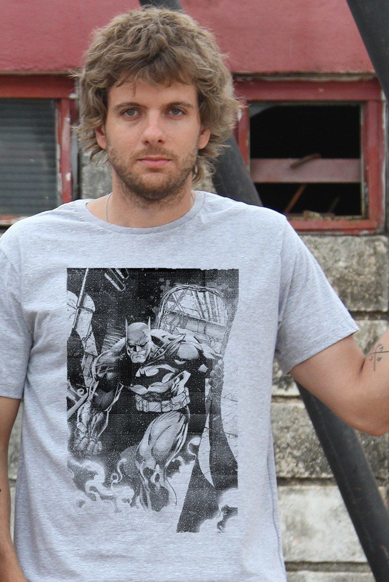 Camiseta Masculina Batman Tracing  - bandUP Store Marketplace