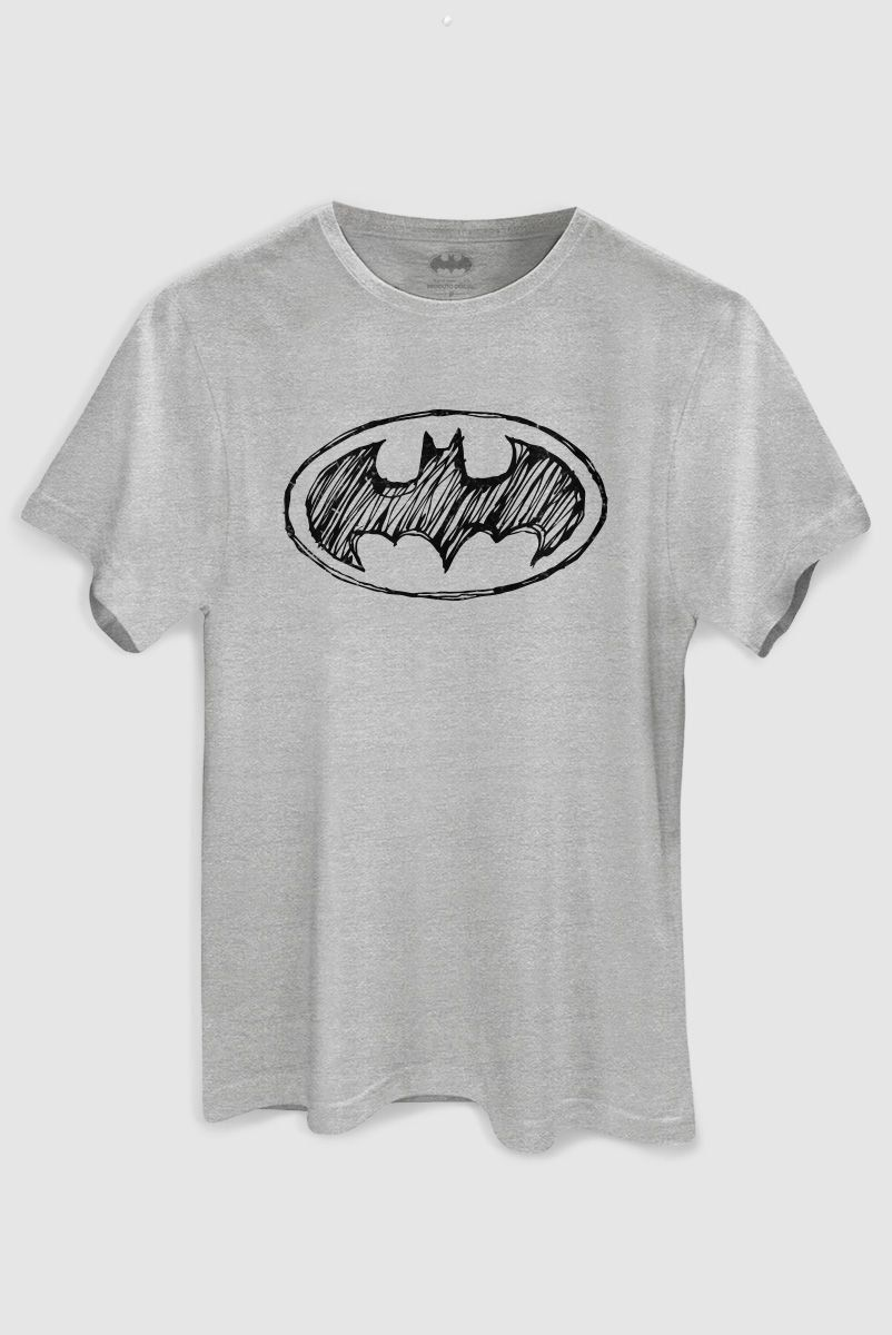Camiseta Masculina Batman Tracing Logo - bandUP Store Marketplace
