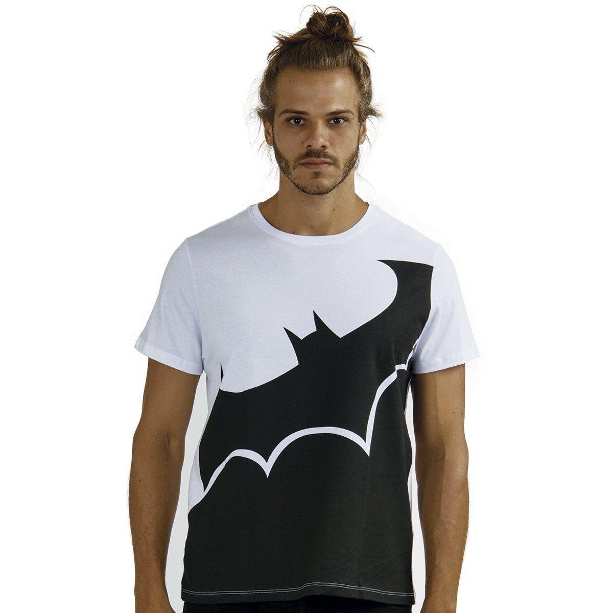Camiseta Masculina Batman Transversal  - bandUP Store Marketplace