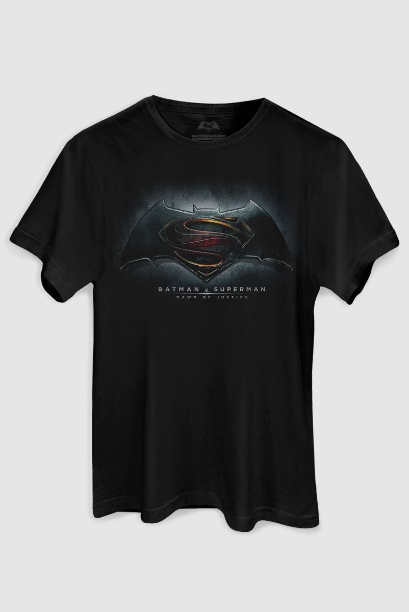 Camiseta Masculina Batman VS Superman Dawn of Justice  - bandUP Store Marketplace