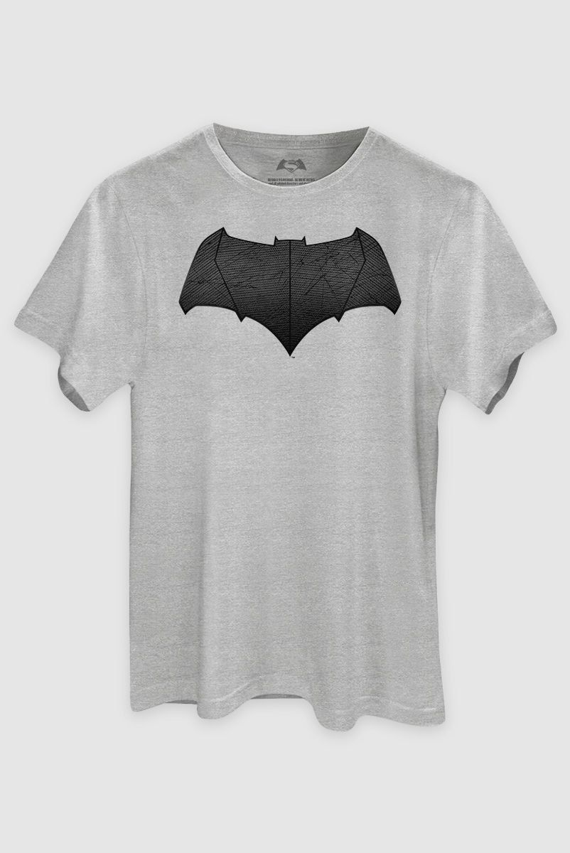 Camiseta Masculina Batman Vs Superman Logo Batman  - bandUP Store Marketplace