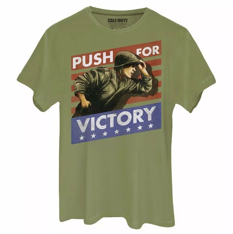 Camiseta Masculina Call of Duty Victory Oficial  - bandUP Store Marketplace