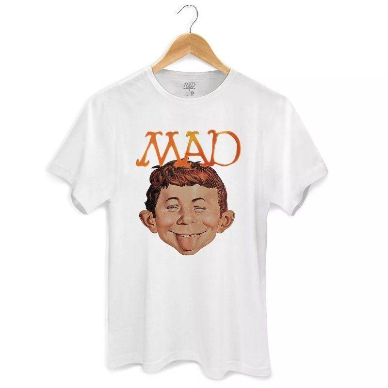Camiseta Masculina DC Comics MAD Face 2 Oficial  - bandUP Store Marketplace