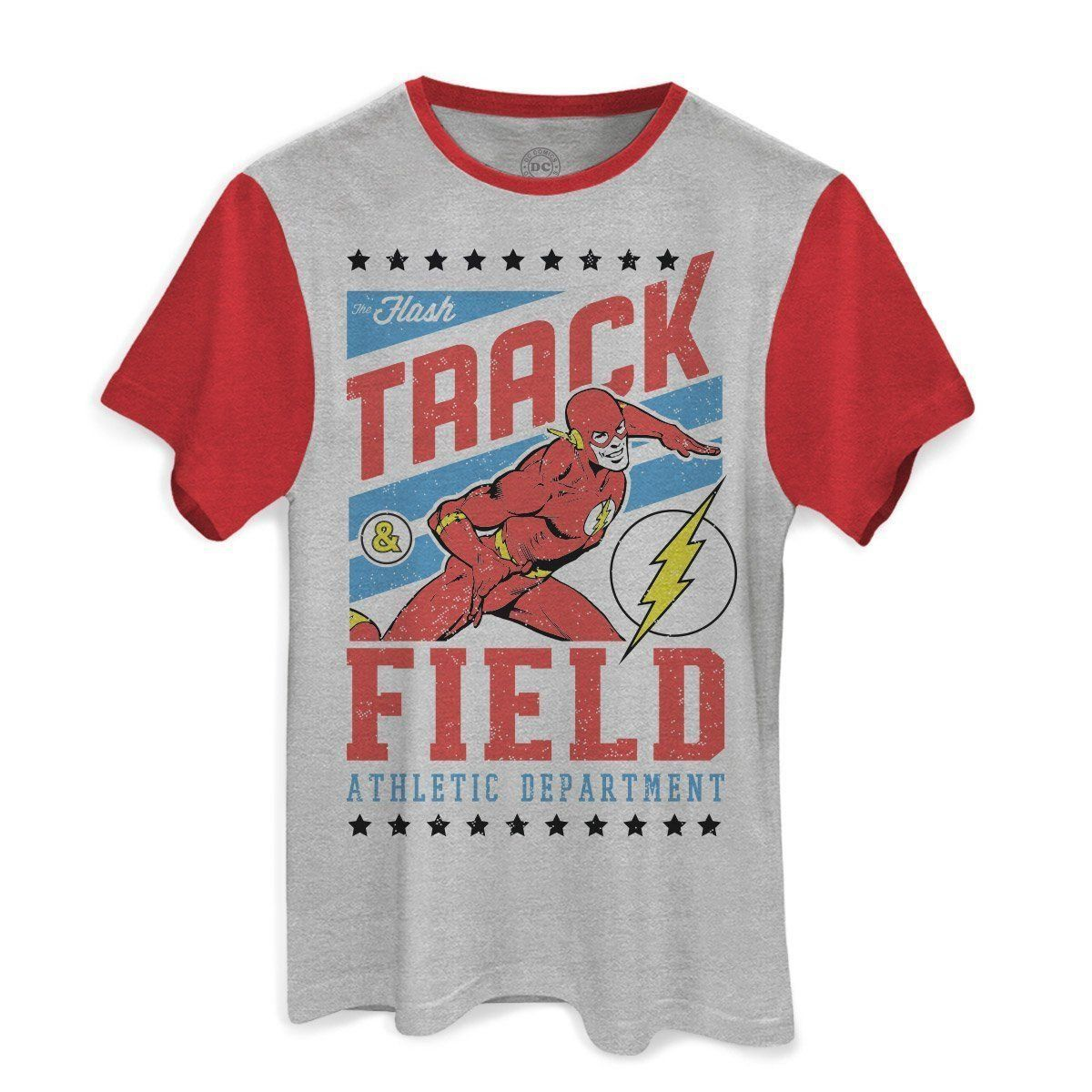 Camiseta Masculina DC Flash Track Field Oficial  - bandUP Store Marketplace