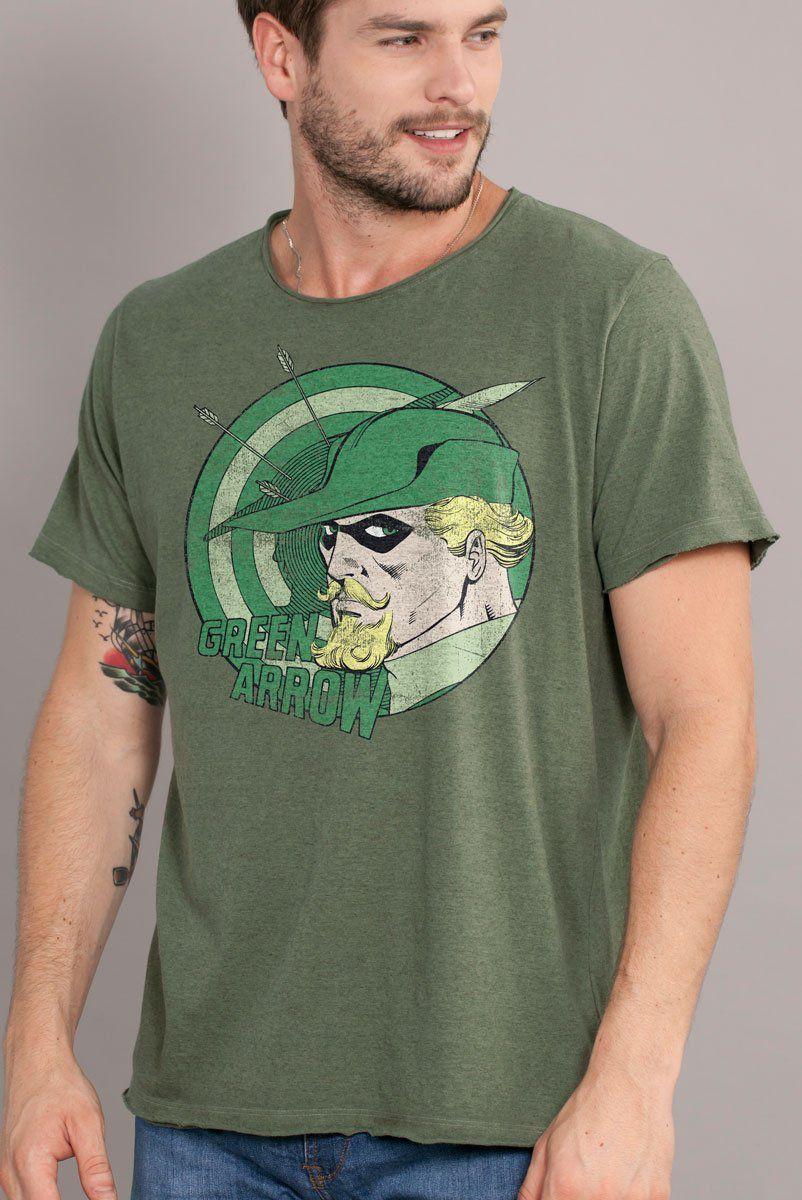 Camiseta Masculina Green Arrow  - bandUP Store Marketplace