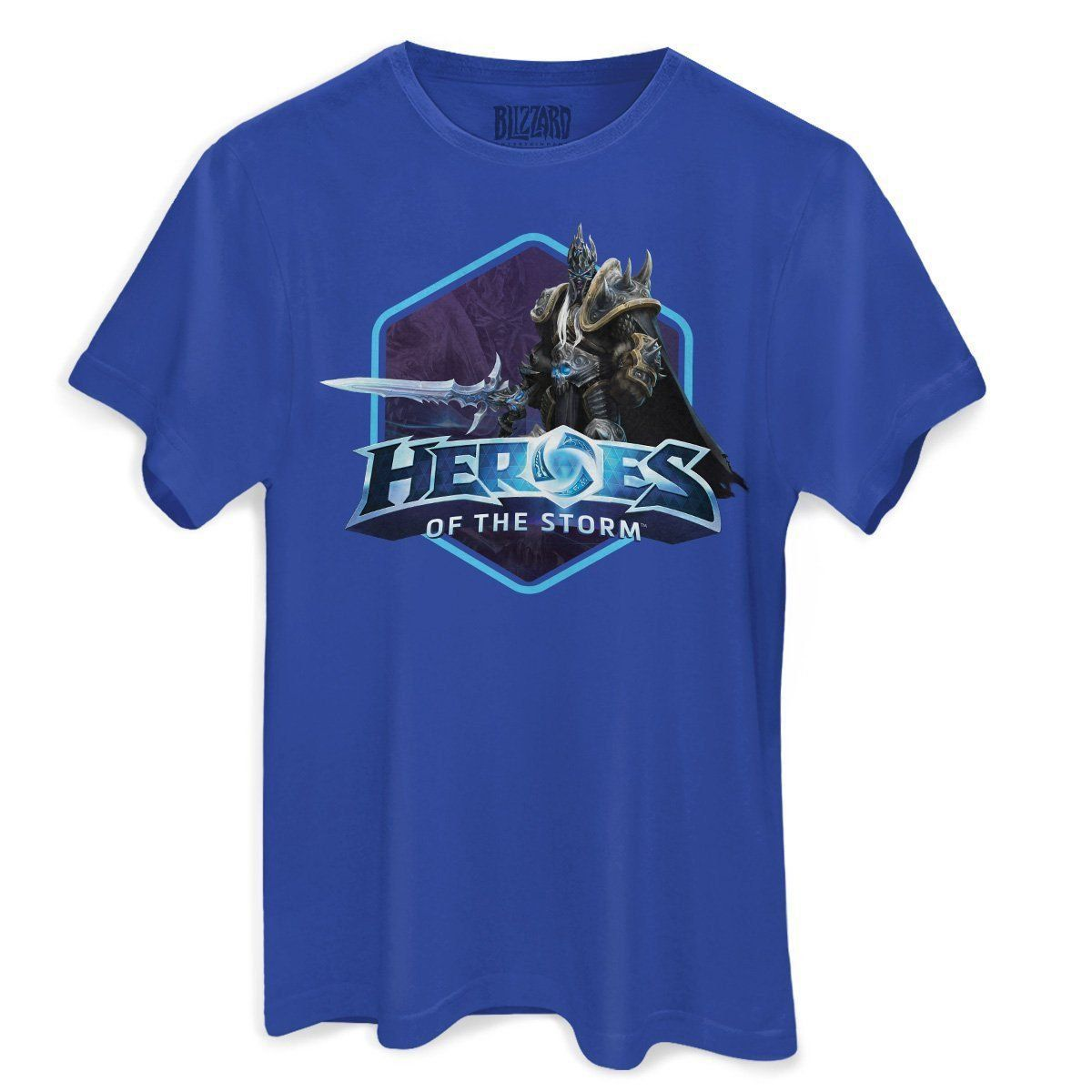 Camiseta Masculina Heroes Of The Storm Arthas Oficial  - bandUP Store Marketplace