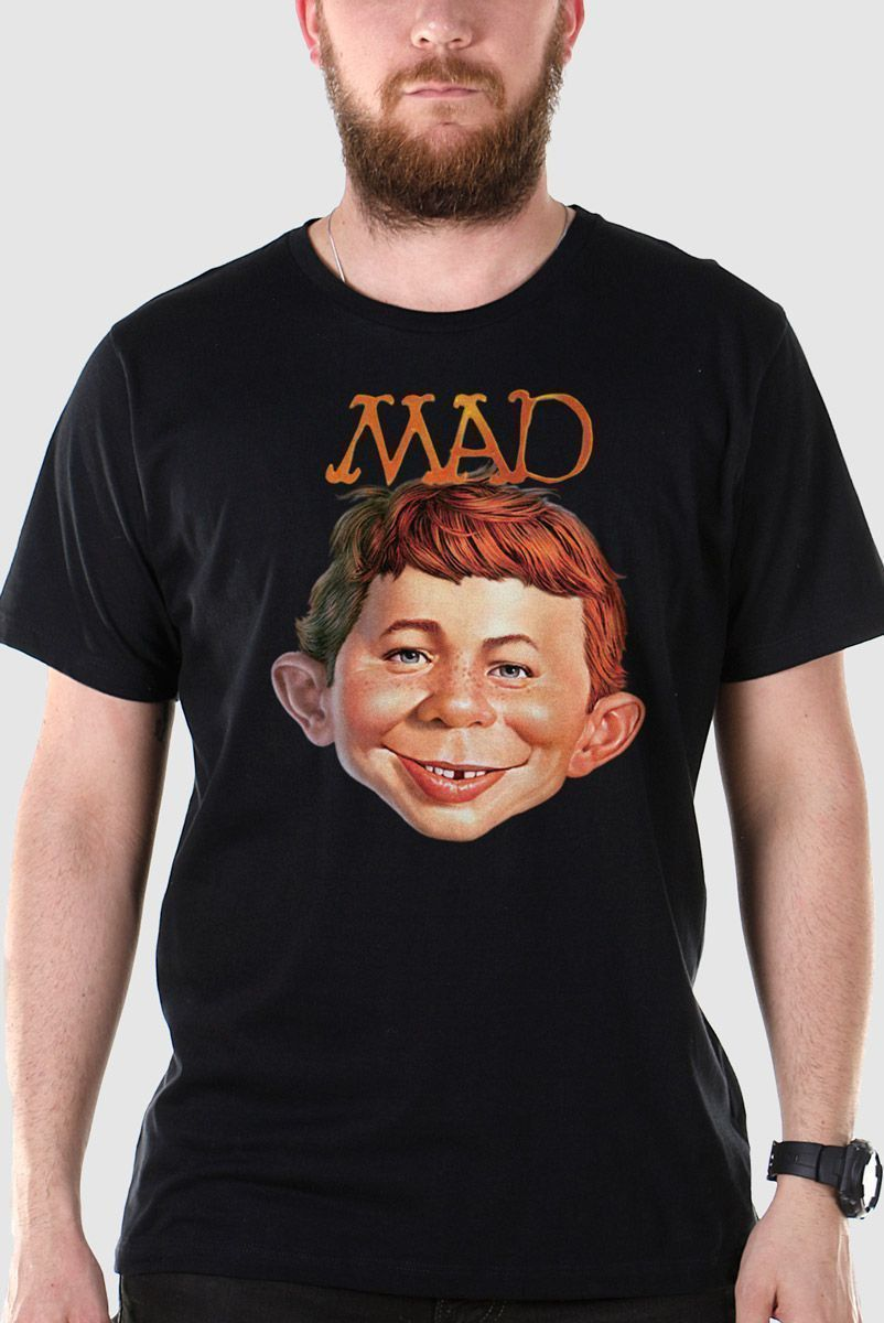 Camiseta Masculina MAD Face 2  - bandUP Store Marketplace