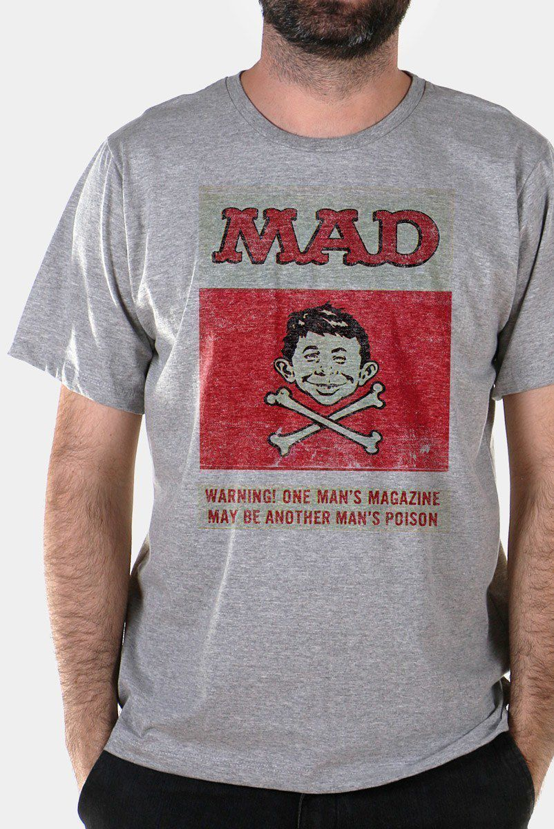 Camiseta Masculina MAD Poison 2  - bandUP Store Marketplace