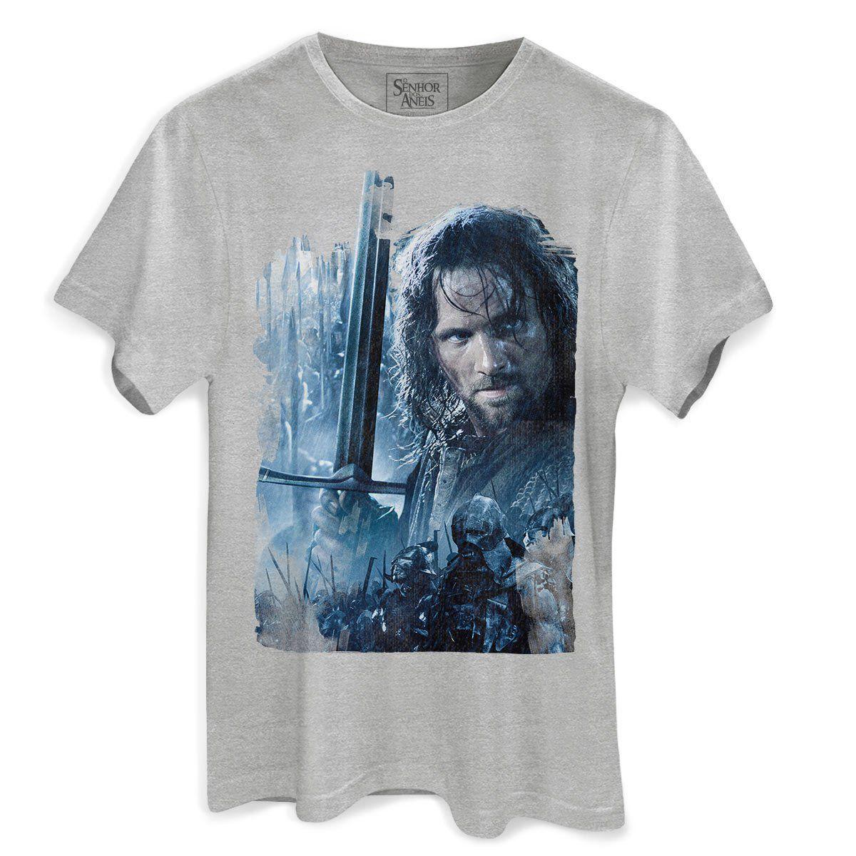 Camiseta Masculina O Senhor dos Anéis As Duas Torres  - bandUP Store Marketplace
