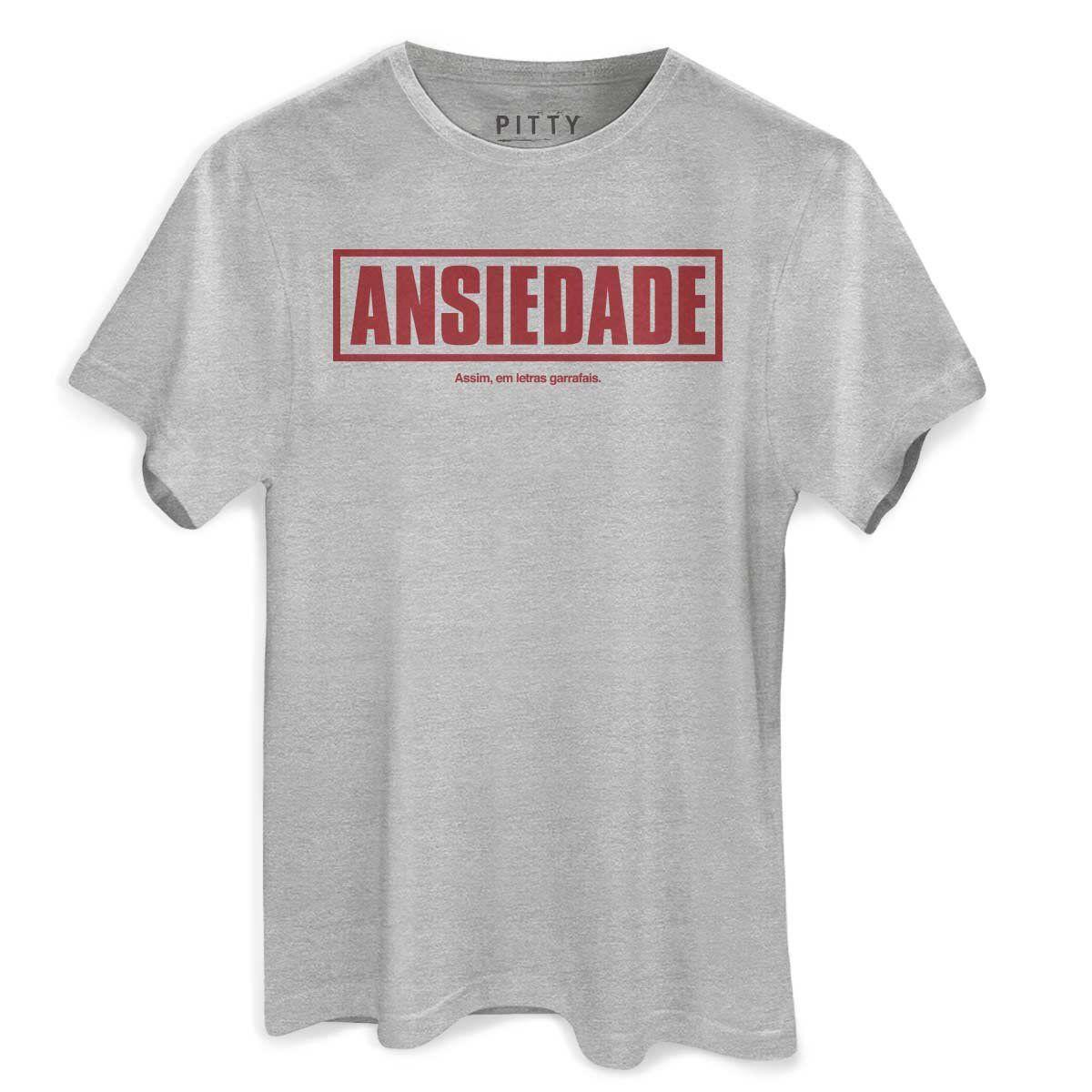 Camiseta Masculina Pitty Ansiedade  - bandUP Store Marketplace
