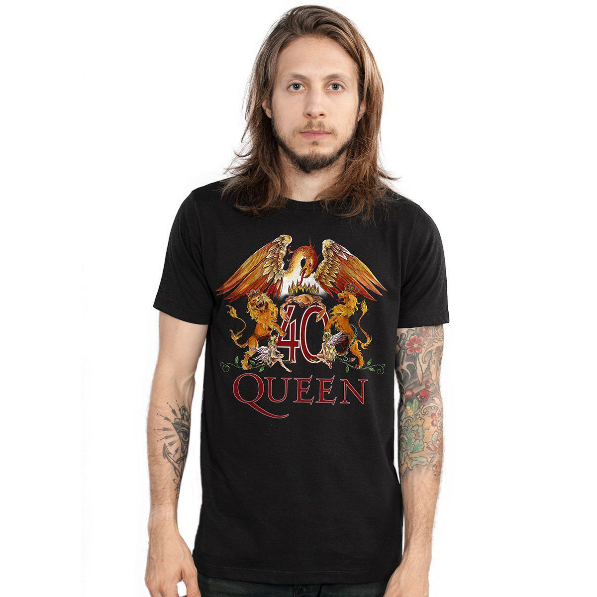 Camiseta Masculina Queen Composition  - bandUP Store Marketplace