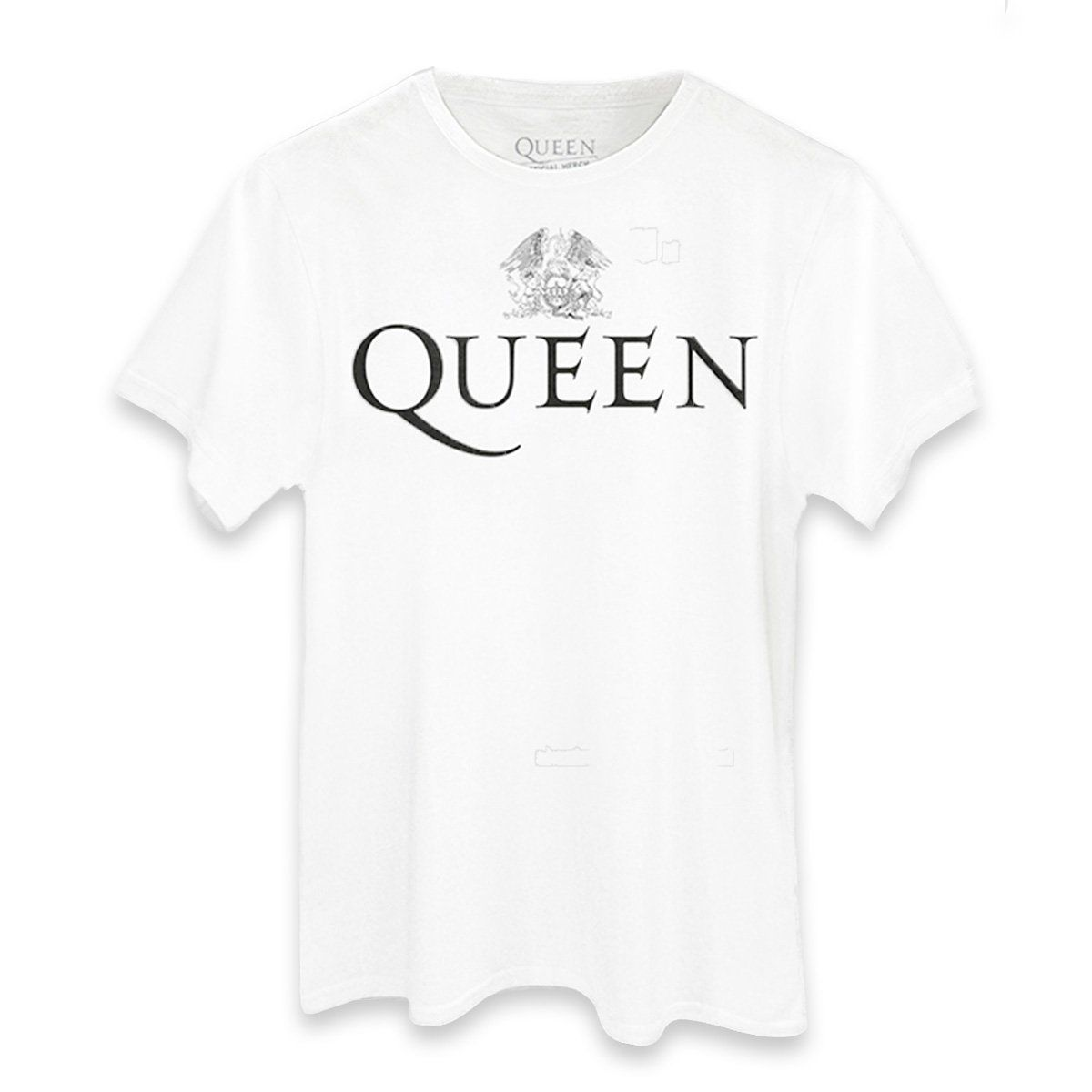 Camiseta Masculina Queen Logo  - bandUP Store Marketplace
