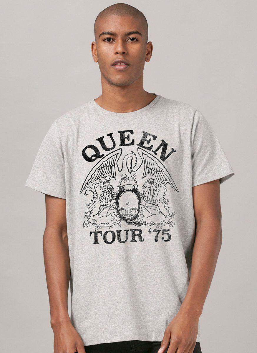 Camiseta Masculina Queen Tour 75