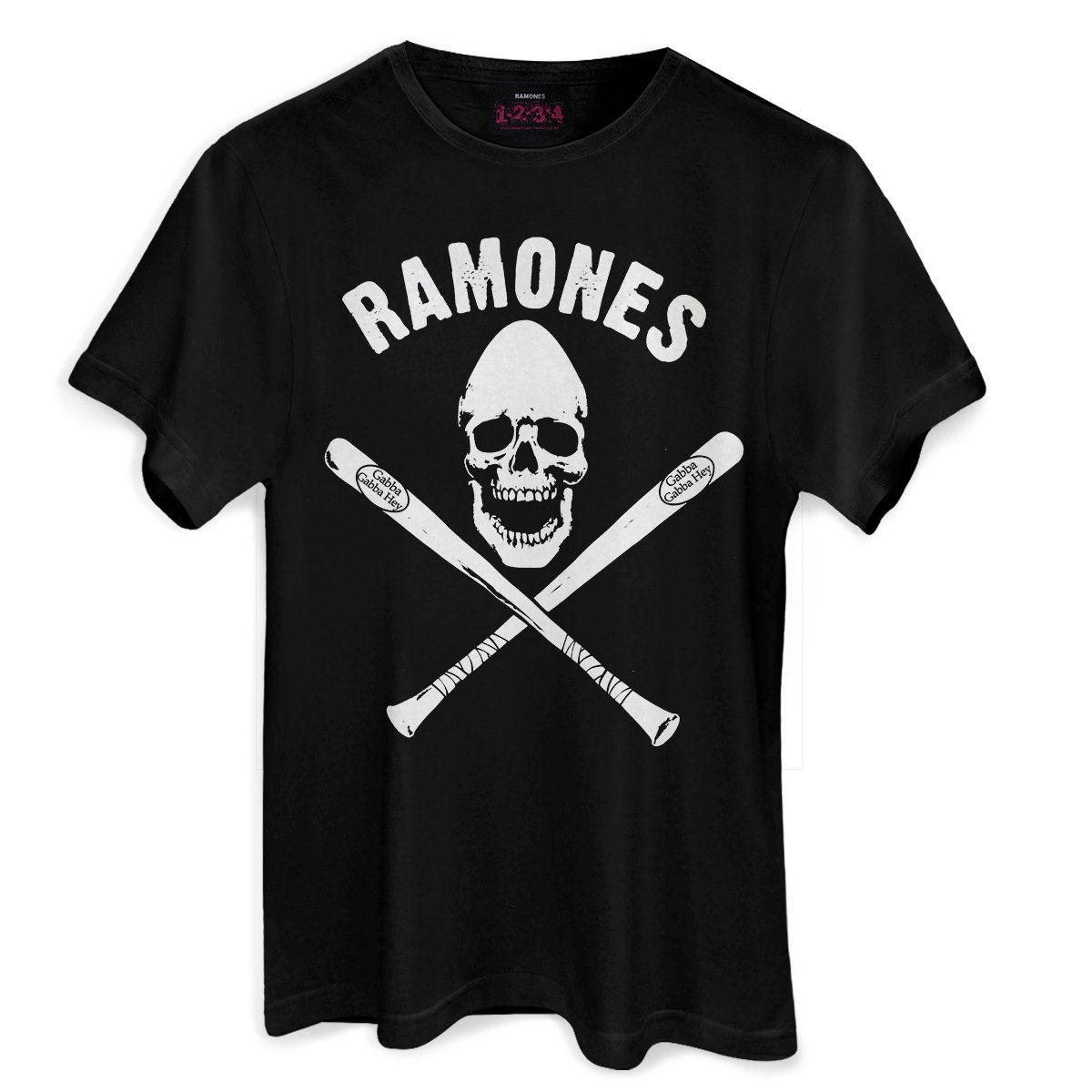 Camiseta Masculina Ramones Gabba Gabba Hey  - bandUP Store Marketplace