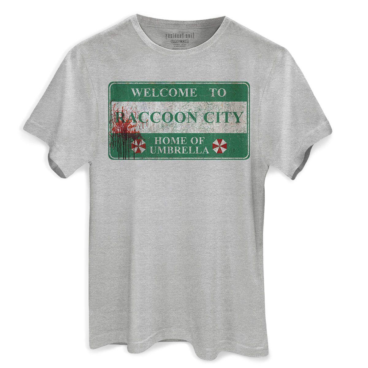 Camiseta Masculina Resident Evil Racoon City  - bandUP Store Marketplace