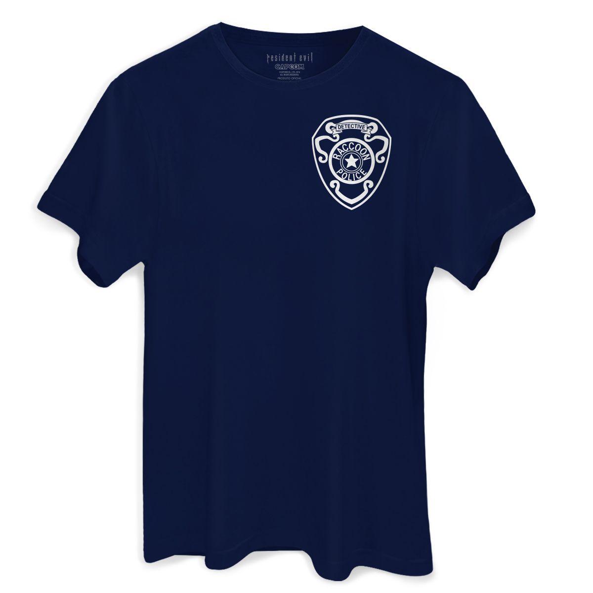 Camiseta Masculina Resident Evil Umbrella RPD  - bandUP Store Marketplace