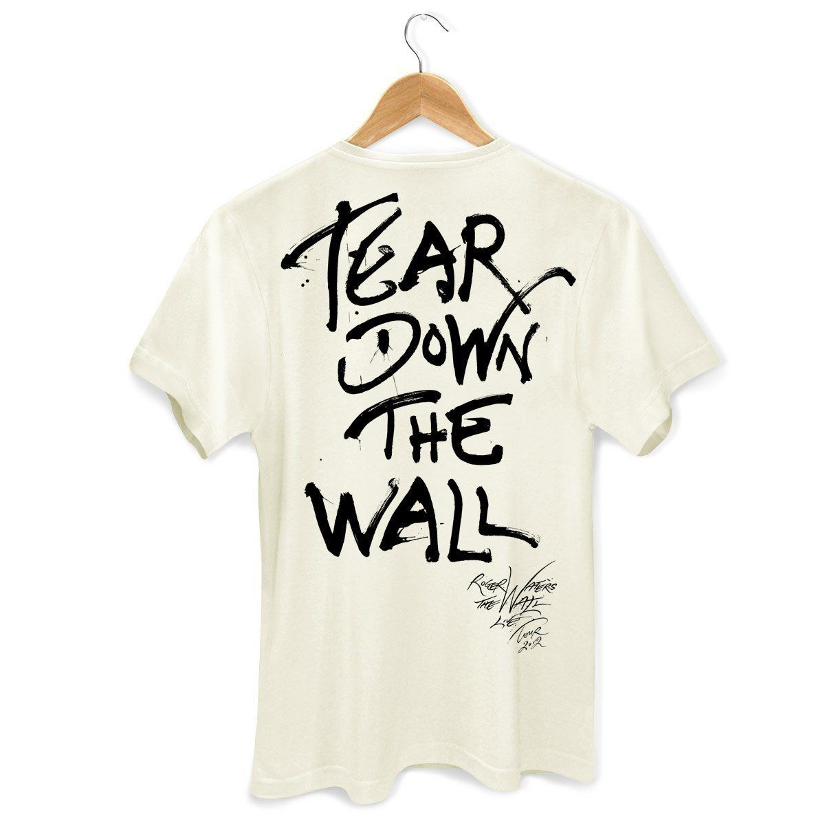 Camiseta Masculina Roger Waters Face Off Wall 2 Oficial  - bandUP Store Marketplace