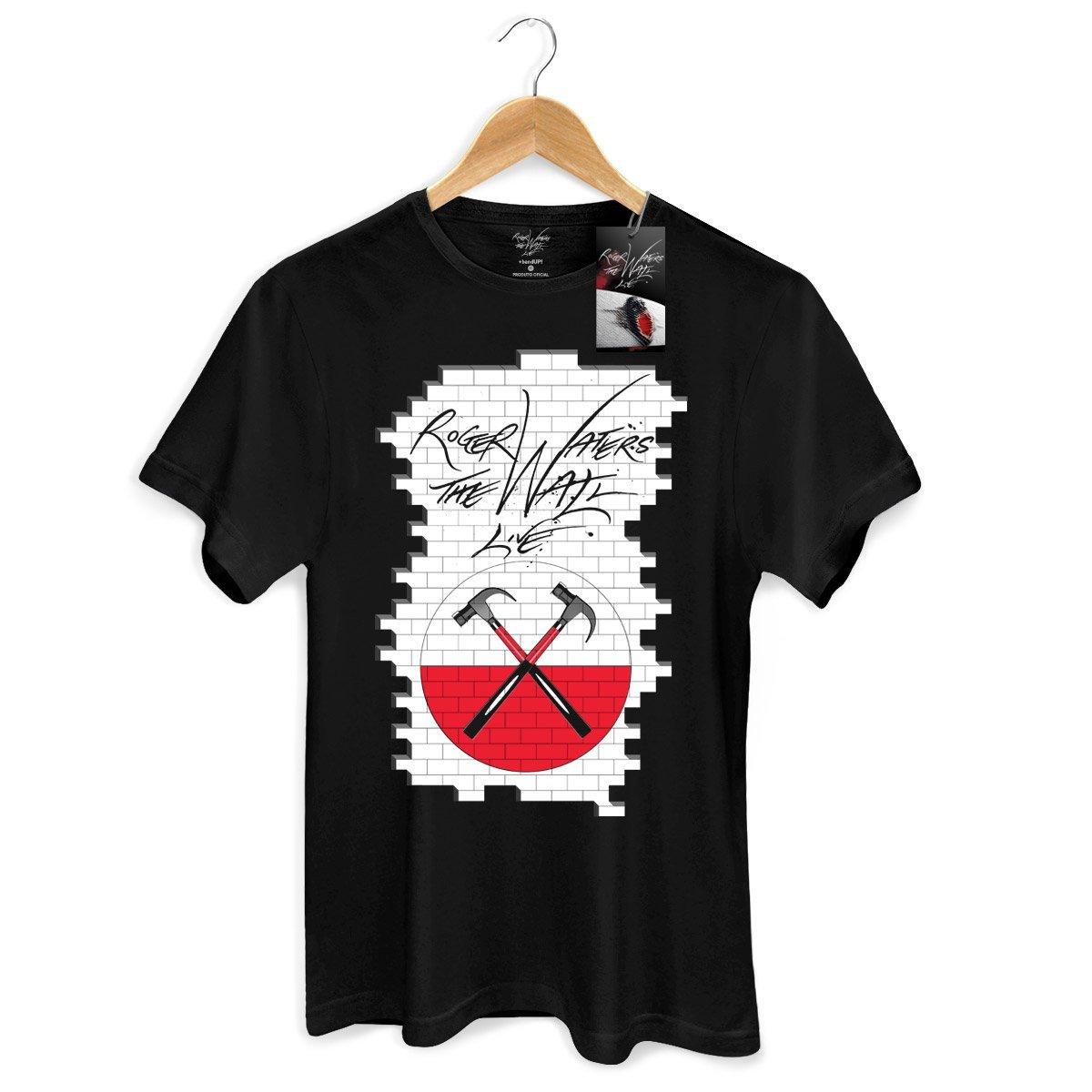 Camiseta Masculina Roger Waters The Wall  - bandUP Store Marketplace