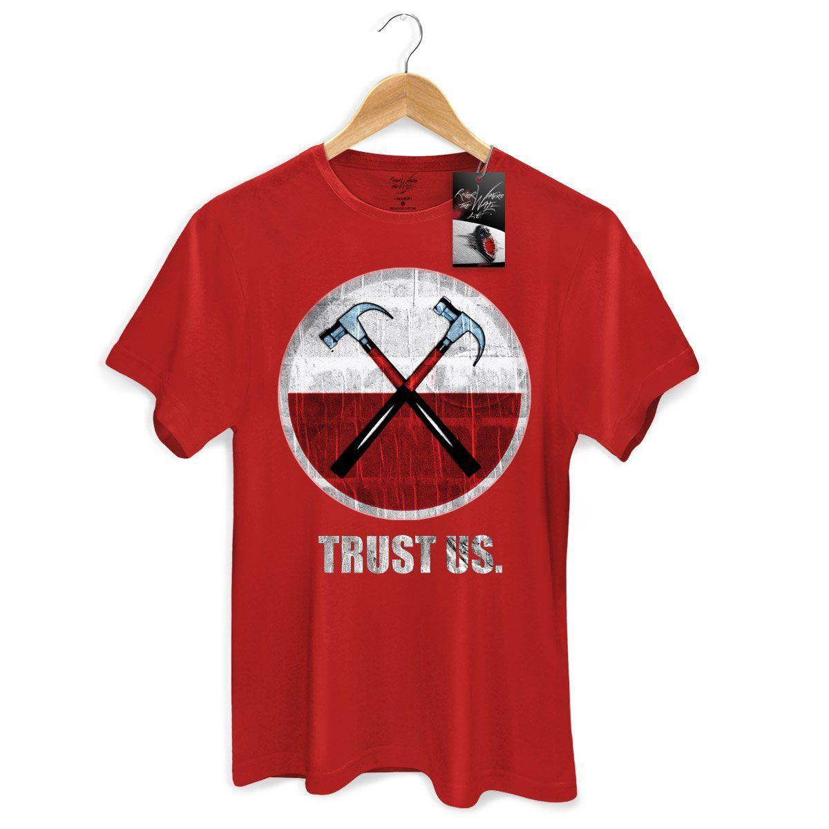 Camiseta Masculina Roger Waters The Wall Ao Vivo Martelos 2  - bandUP Store Marketplace