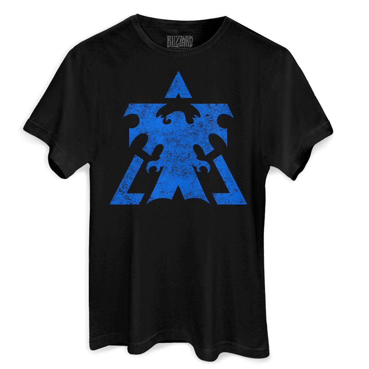 Camiseta Masculina Starcraft 2 Terrans  - bandUP Store Marketplace