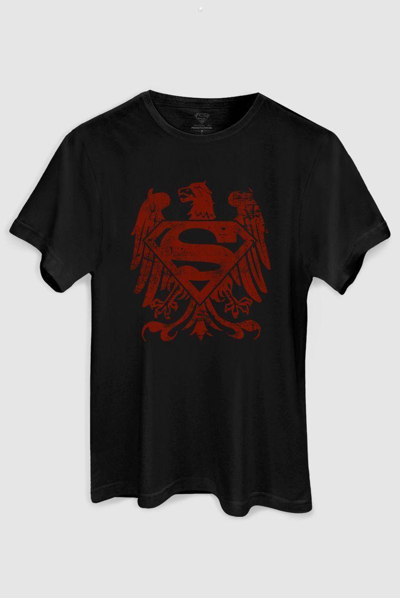 Camiseta Masculina Superman Clássica Águia Americana  - bandUP Store Marketplace