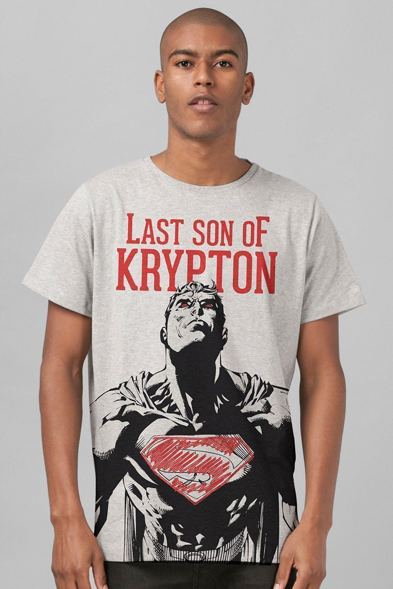 Camiseta Masculina Superman Last Son of Krypton  - bandUP Store Marketplace