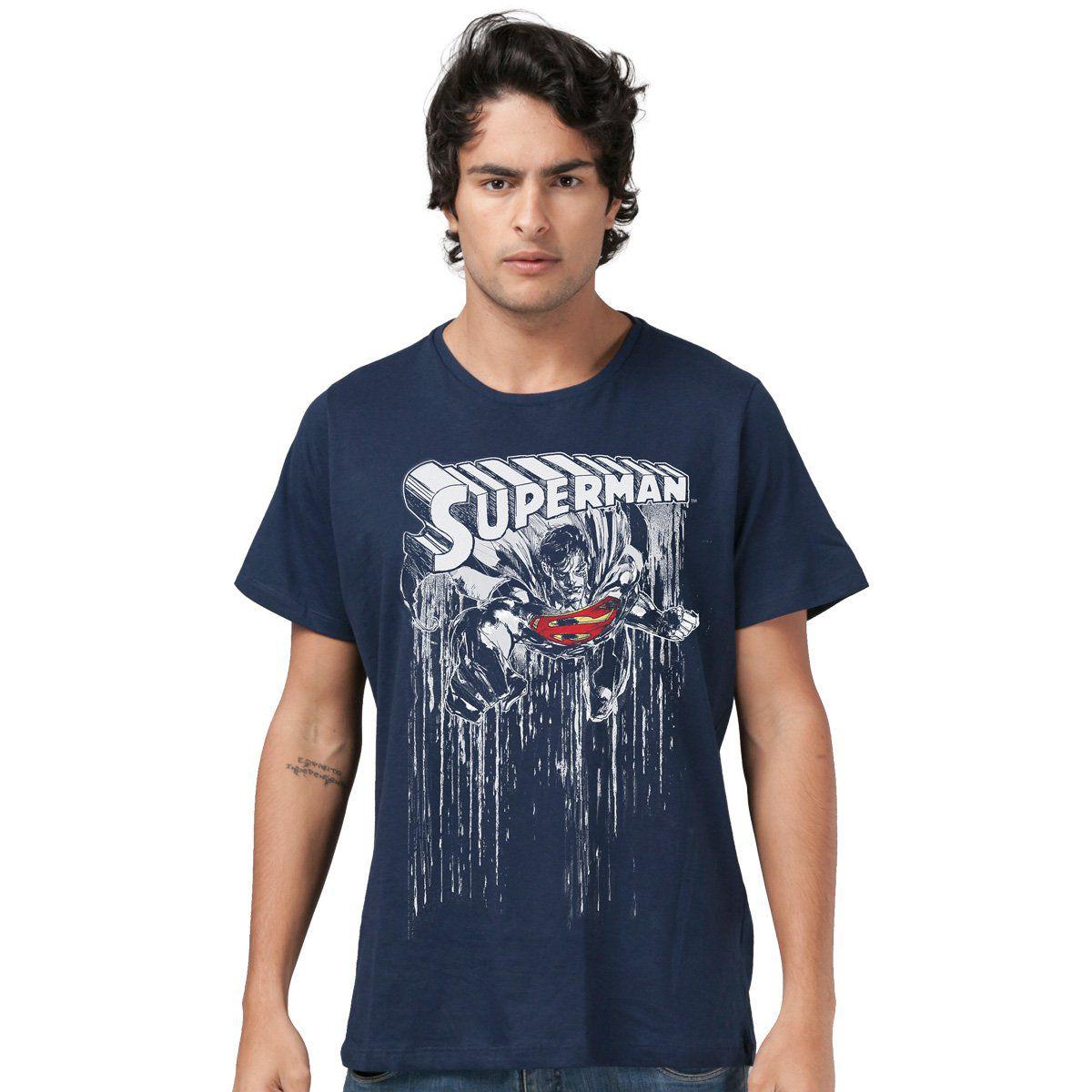 Camiseta Masculina Superman Melting Color  - bandUP Store Marketplace