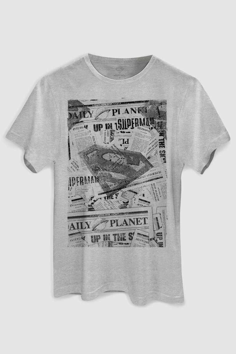 Camiseta Masculina Superman Planeta Diário  - bandUP Store Marketplace