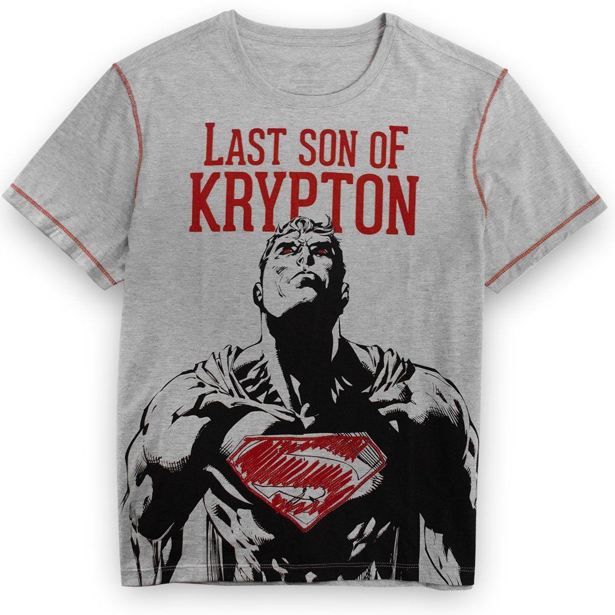 Camiseta Masculina Superman Son of Krypton Oficial  - bandUP Store Marketplace