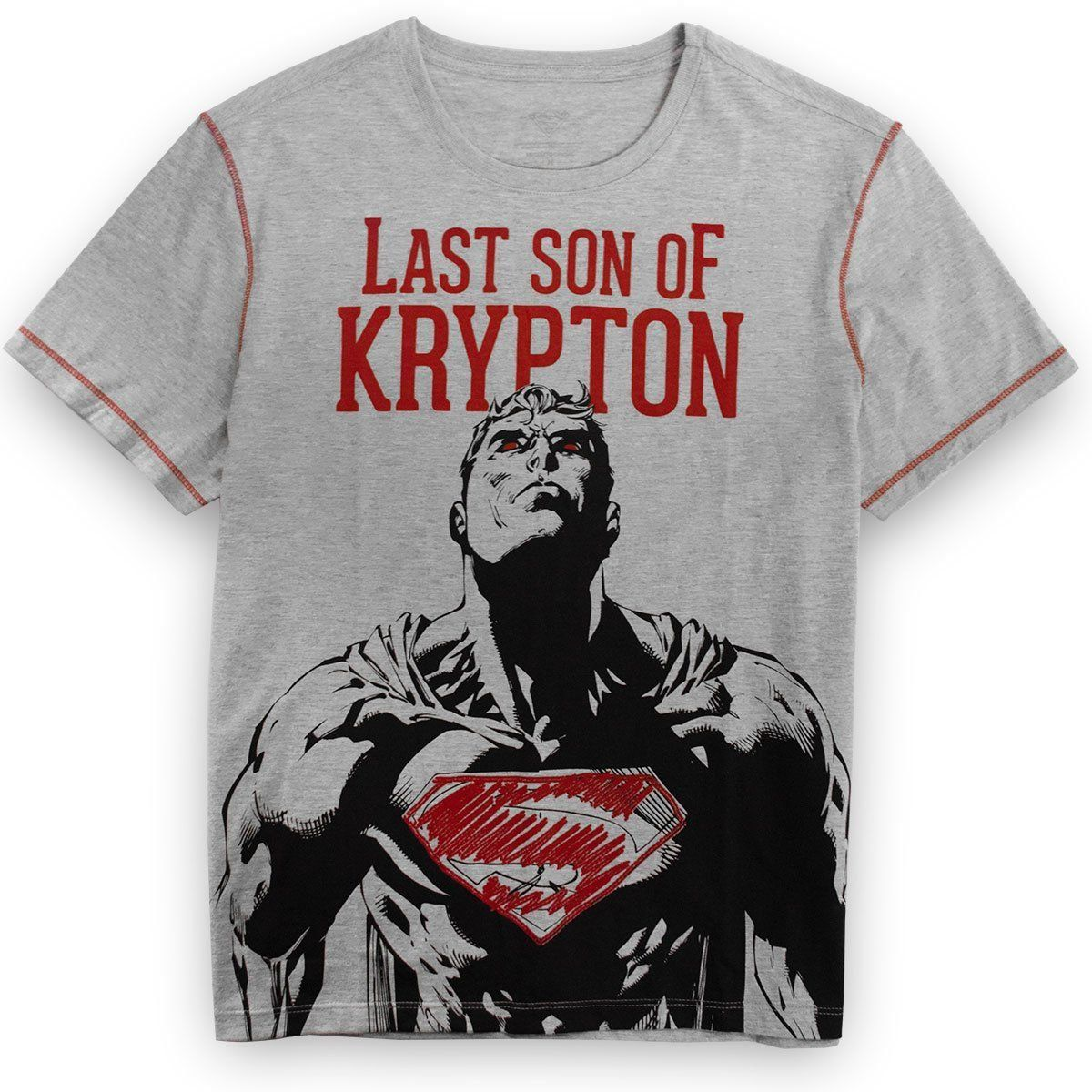 Camiseta Masculina Superman Son of Krypton Oficial  - bandUP Store Marketplace