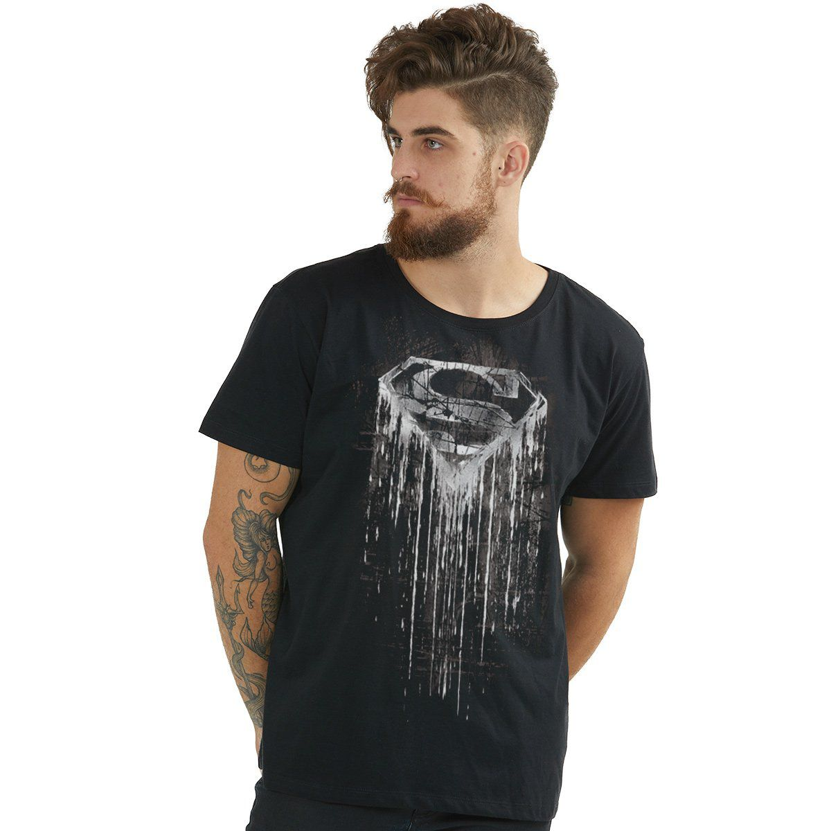 Camiseta Masculina Superman Steel Melting  - bandUP Store Marketplace