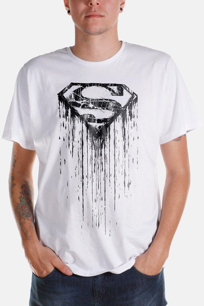 Camiseta Masculina Superman Steel Melting  - bandUP Store Marketplace