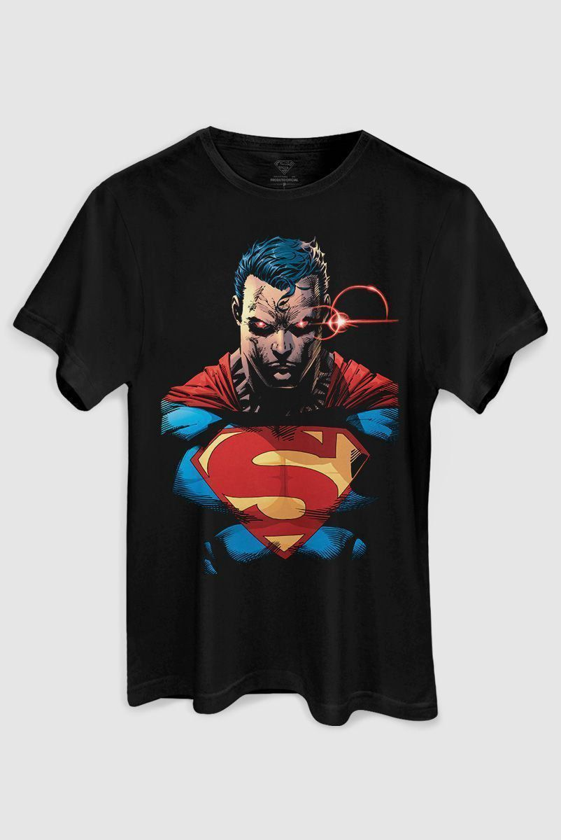 Camiseta Masculina Superman X-Ray Vision Colors  - bandUP Store Marketplace