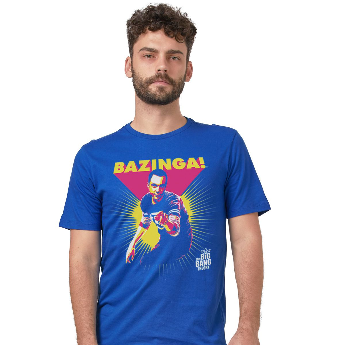 Camiseta Masculina The Big Bang Theory Bazinga!  - bandUP Store Marketplace