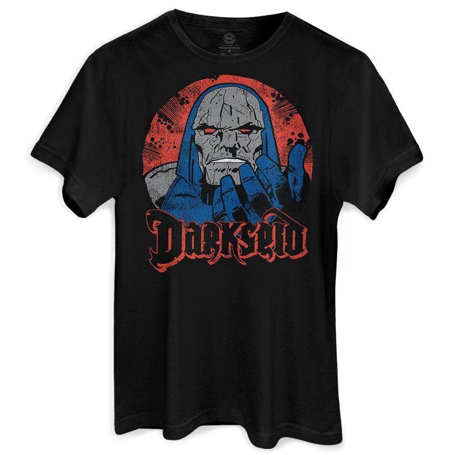 Camiseta Masculina The Darkseid Oficial  - bandUP Store Marketplace