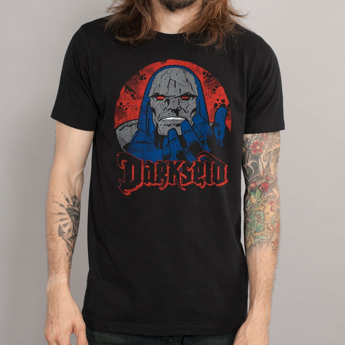 Camiseta Masculina The Darkseid Oficial - bandUP Store Marketplace