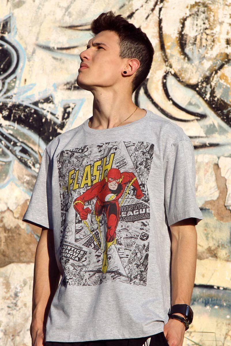 Camiseta Masculina The Flash Comics  - bandUP Store Marketplace