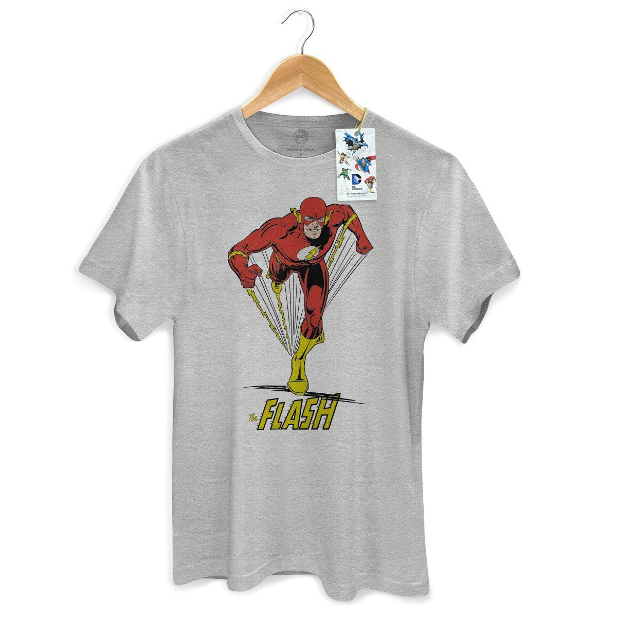 Camiseta Masculina The Flash Em Ação 2 Oficial  - bandUP Store Marketplace