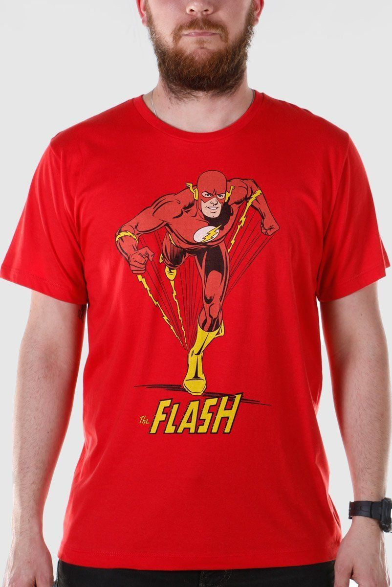 Camiseta Masculina The Flash Em Ação Oficial  - bandUP Store Marketplace